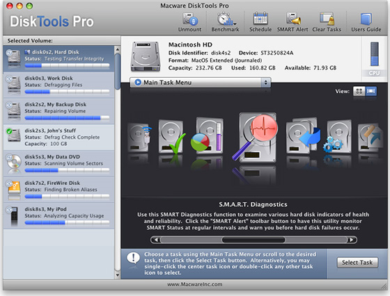 DiskTools Pro Screenshot