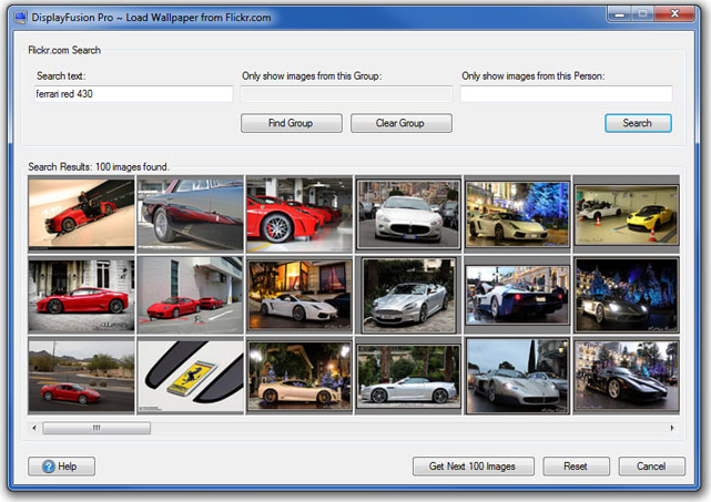 DisplayFusion Screenshot