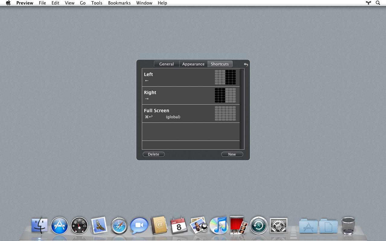 Divvy, Keyboard Software Screenshot