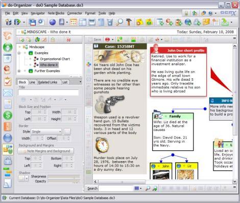 Productivity Software, do ORGANIZER Screenshot