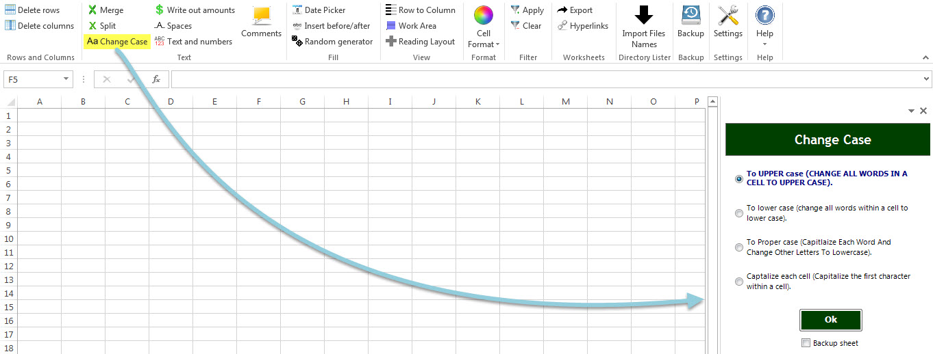 Dose for Excel Add-In, Excel Add-ins Software Screenshot