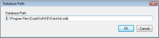 Database Software, DoyleSoft Knowledge Base Screenshot