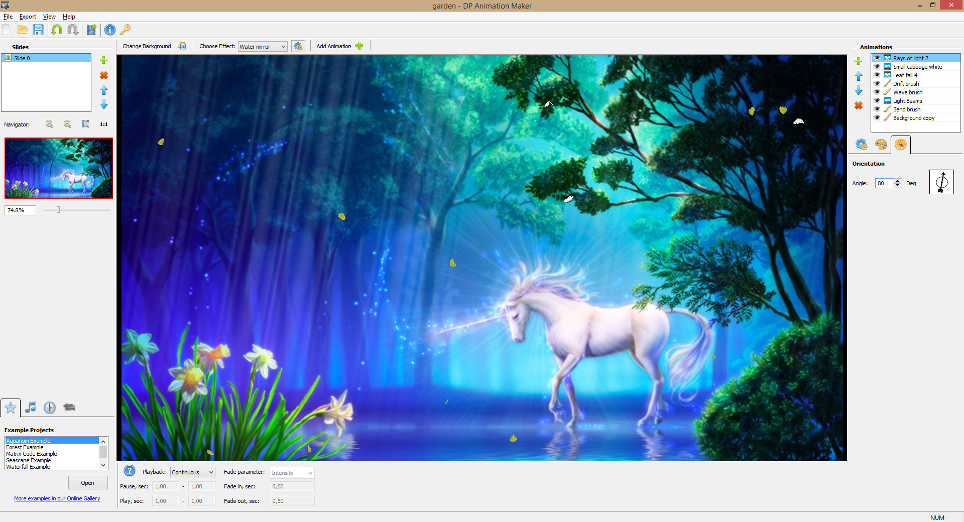 DP Animation Maker, Animation Software Screenshot