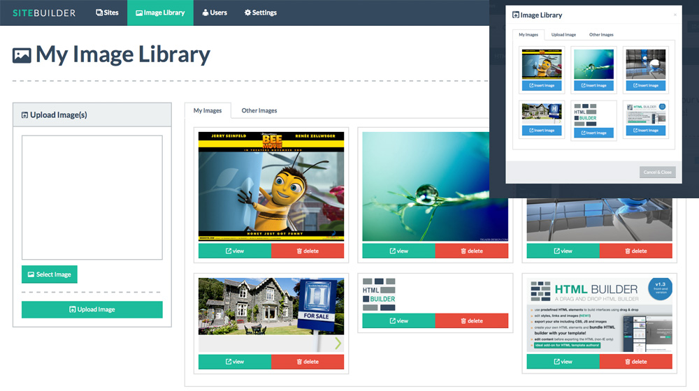 Dragify Website Builder Screenshot