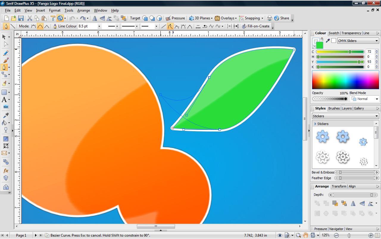Draw Plus X5, Design, Photo & Graphics Software Screenshot