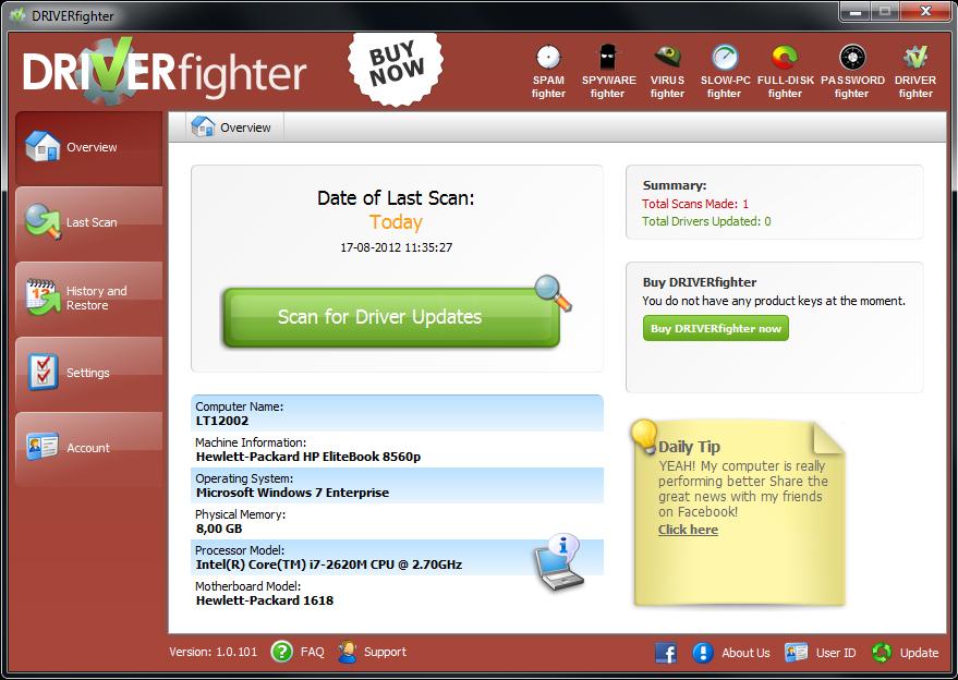 DRIVERfighter Screenshot