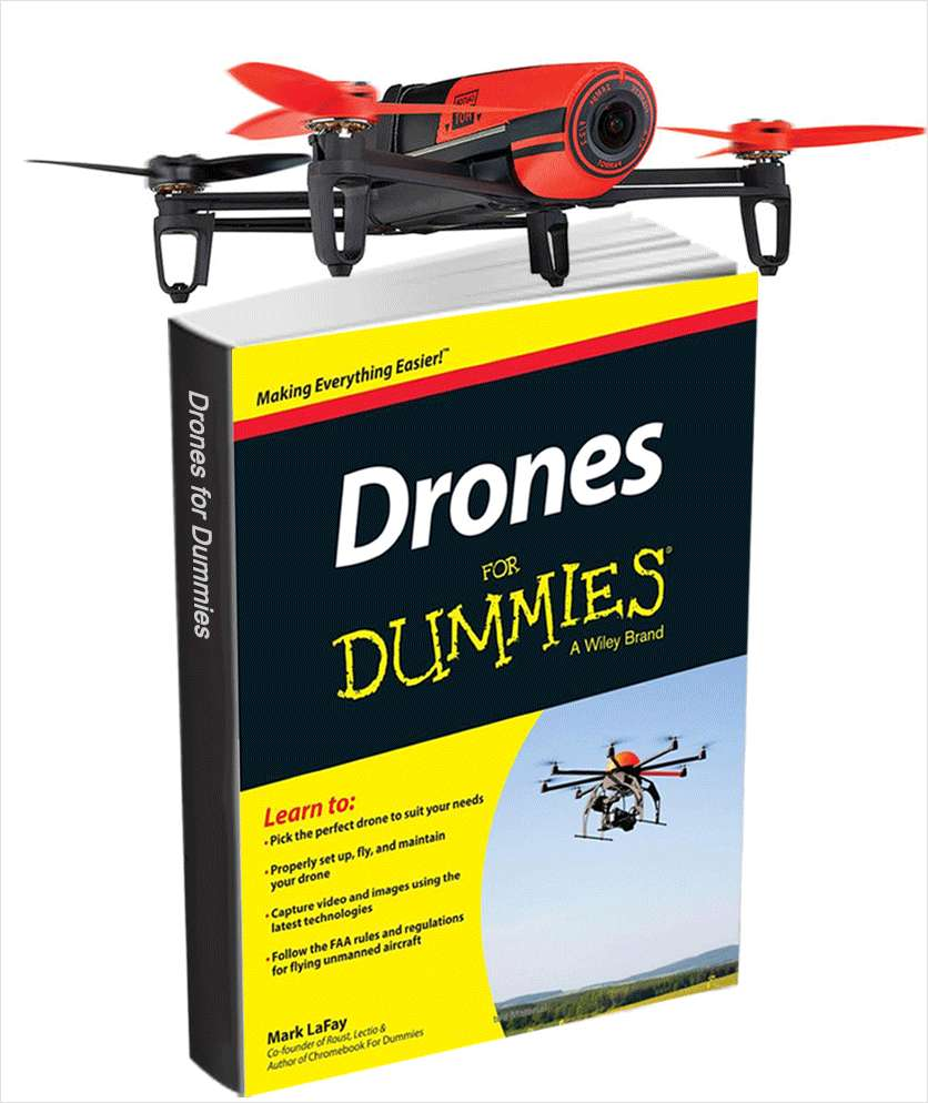 Drones for Dummies (FREE eBook Valued at $16.99) Plus a Chance to Win a Parrot Bebop Drone! Screenshot