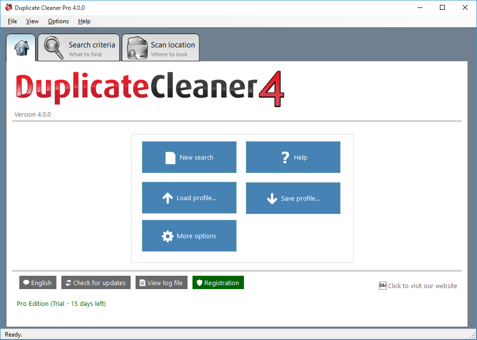 Software Utilities, Duplicate Files Software Screenshot
