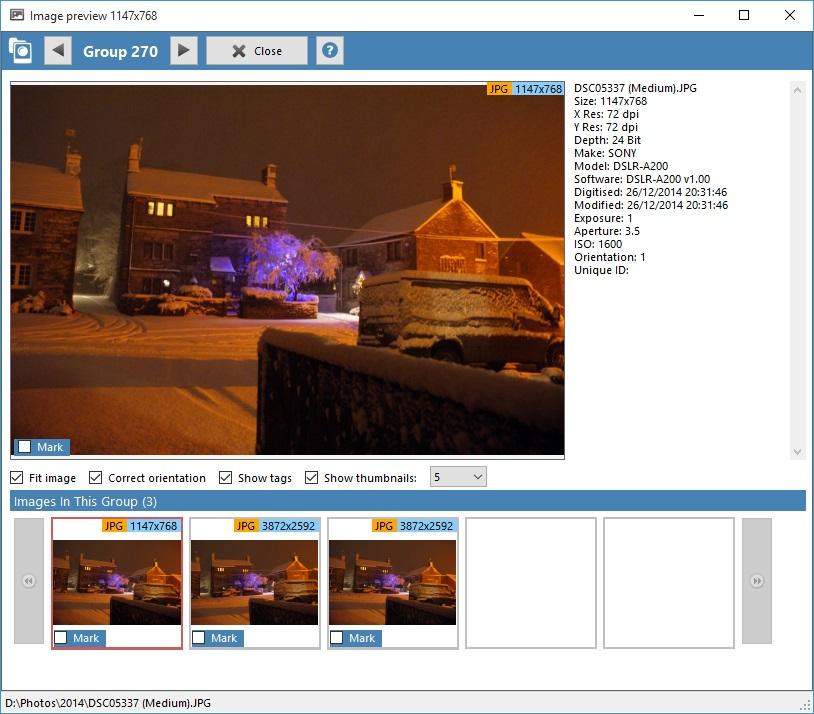 Duplicate Cleaner Pro, Software Utilities, Duplicate Files Software Screenshot