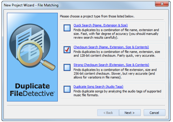 Software Utilities, Duplicate File Detective 6.0 Screenshot