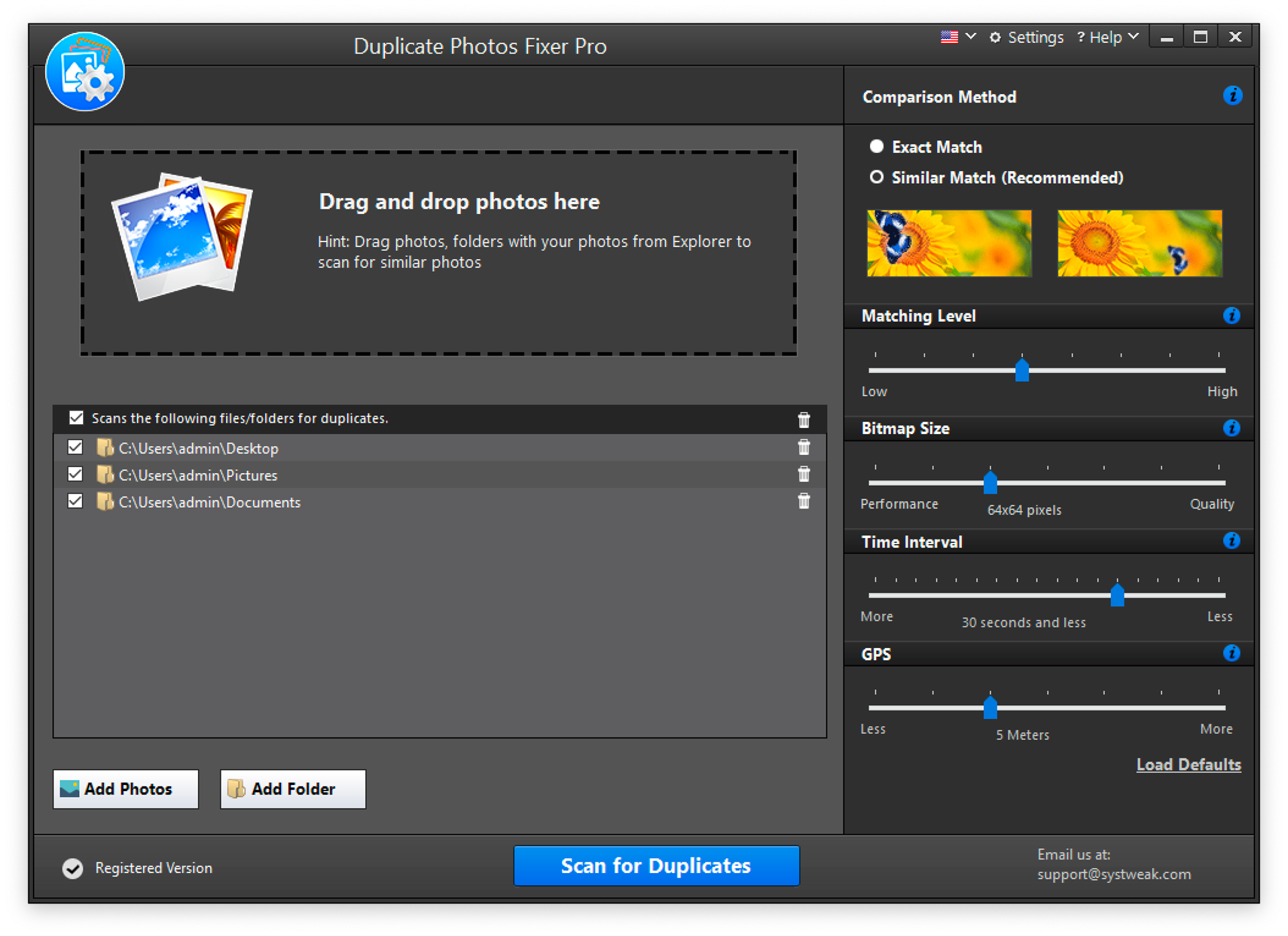 Duplicate Photos Fixer Pro Screenshot