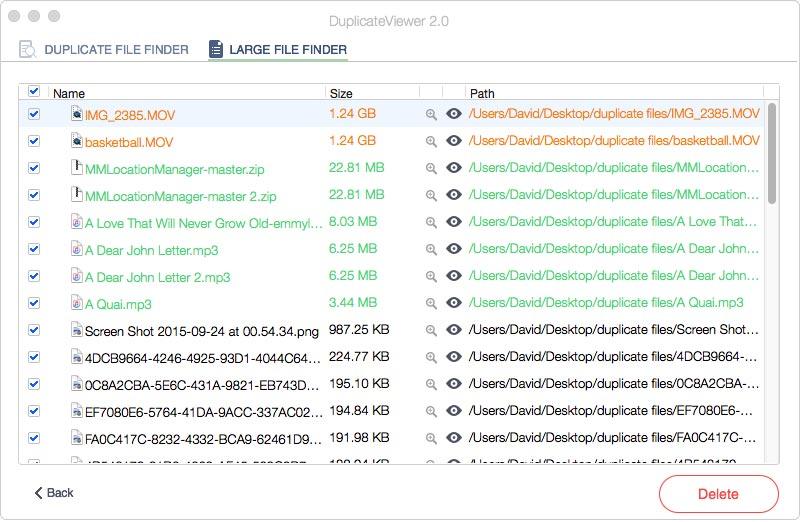 DuplicateViewer, Duplicate Files Software Screenshot