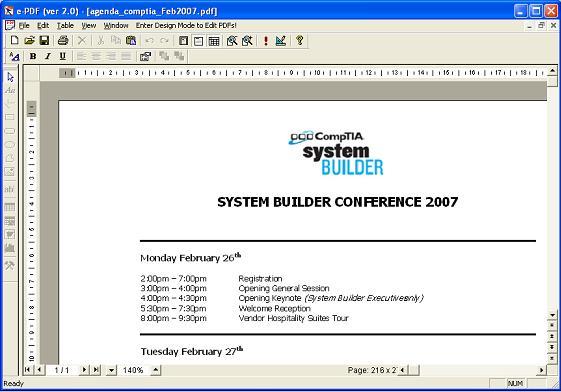 e-PDF Screenshot