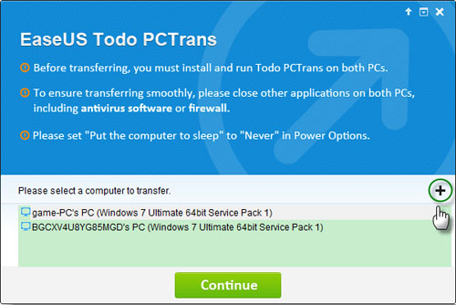 EaseUS Todo PCTrans Pro, File Management Software Screenshot
