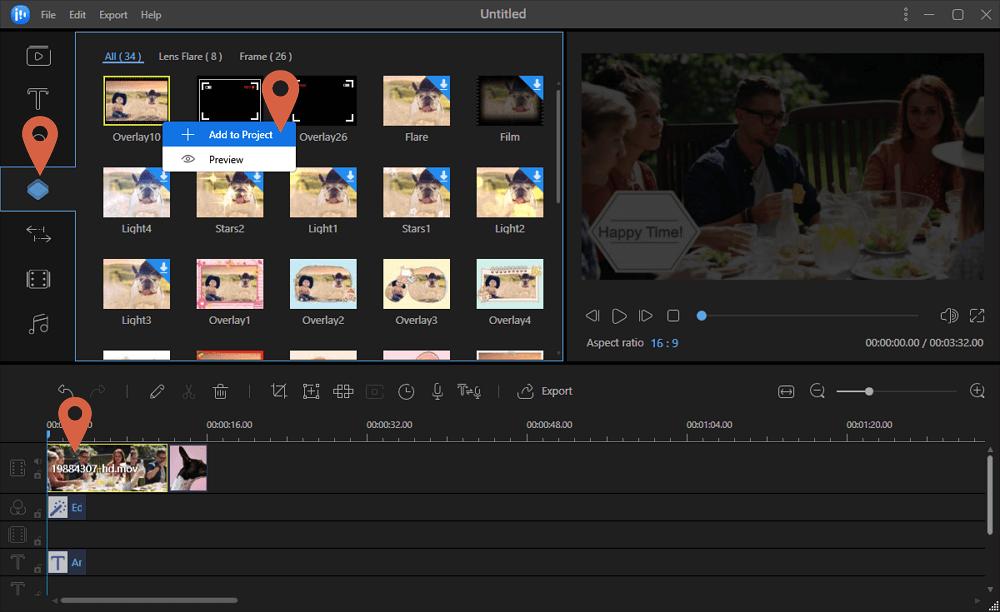 EaseUS Video Editor Screenshot
