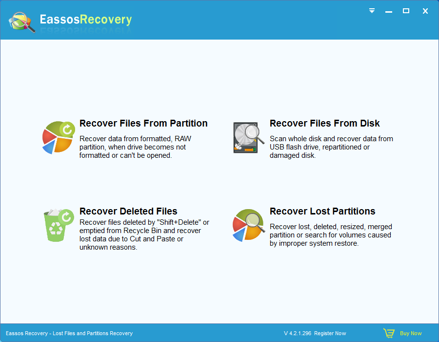 Eassos Recovery - Recovery Software Discount Download for