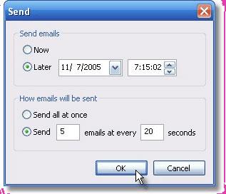 Internet Software, Easy Mail Merge Screenshot