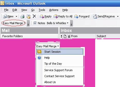 Easy Mail Merge Screenshot