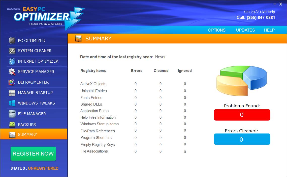 Easy PC Optimizer Screenshot 8