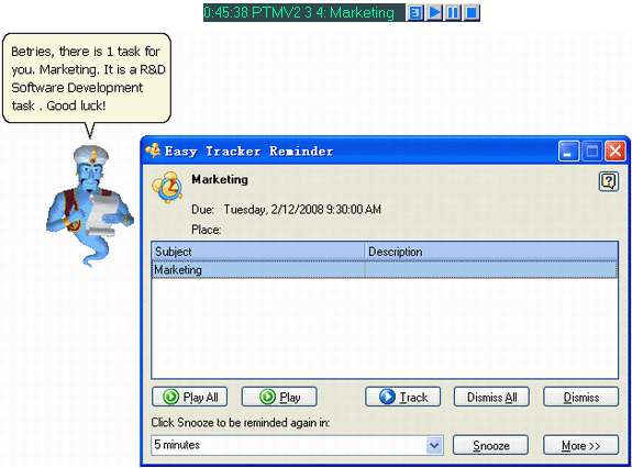 Easy Tracker Standard Screenshot
