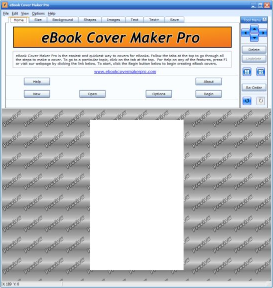 eBook Cover Maker Pro Screenshot