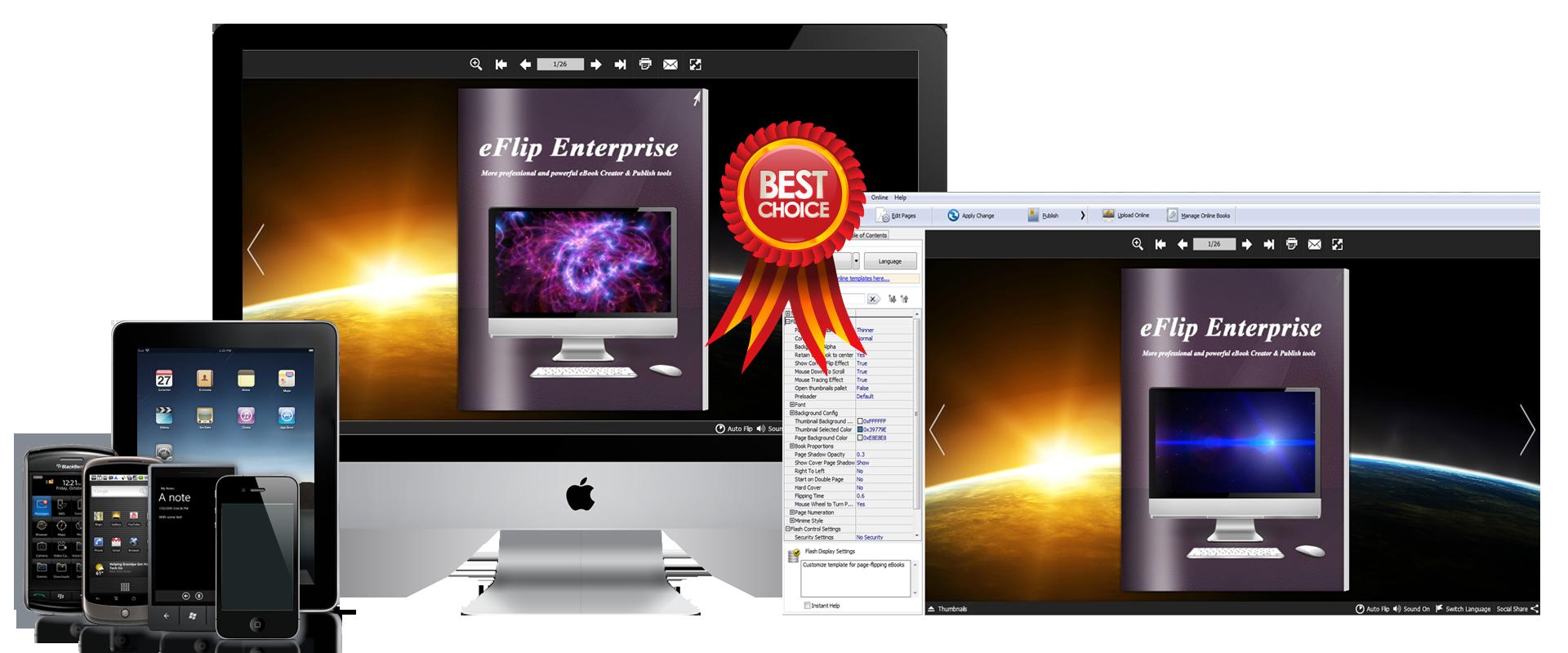 eFlip Enterprise Screenshot