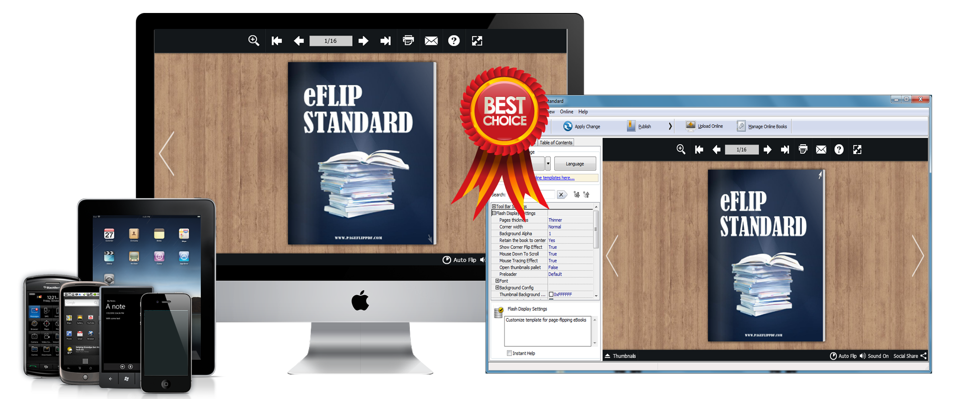 eFlip Standard Screenshot