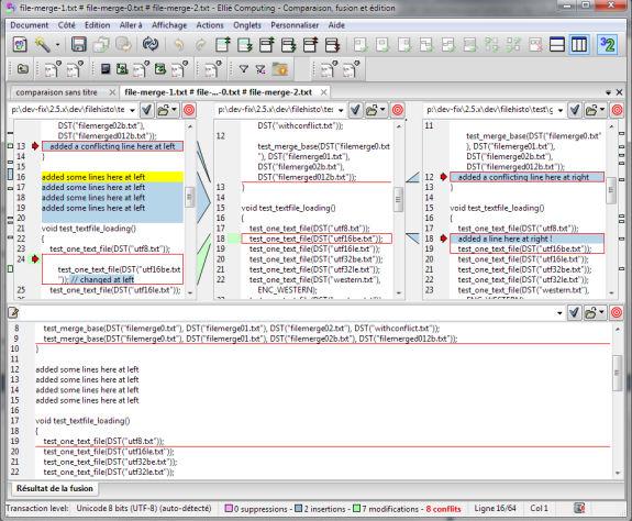 Ellié Computing Merge, Development Tools Software Screenshot