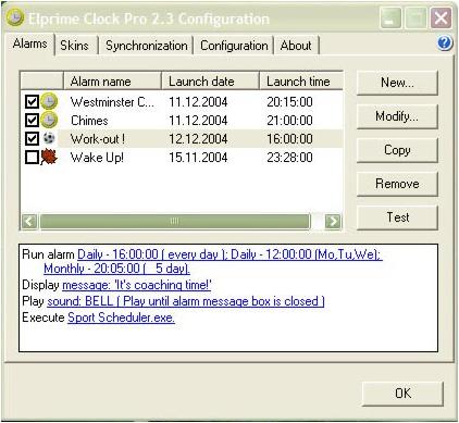 Elprime Clock Pro Screenshot