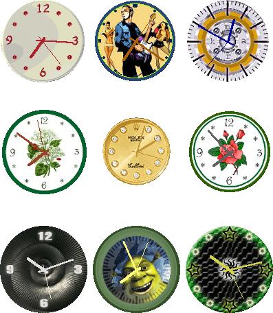 Elprime Clock Pro, Desktop Customization Software, Clock Software Screenshot