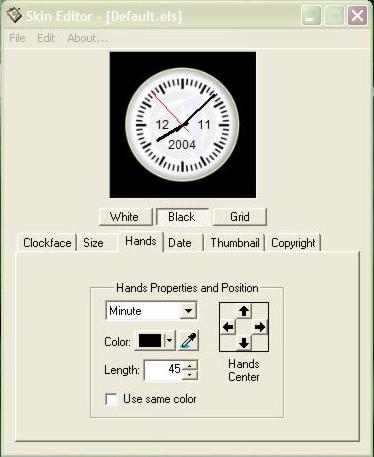 Clock Software, Elprime Clock Pro Screenshot