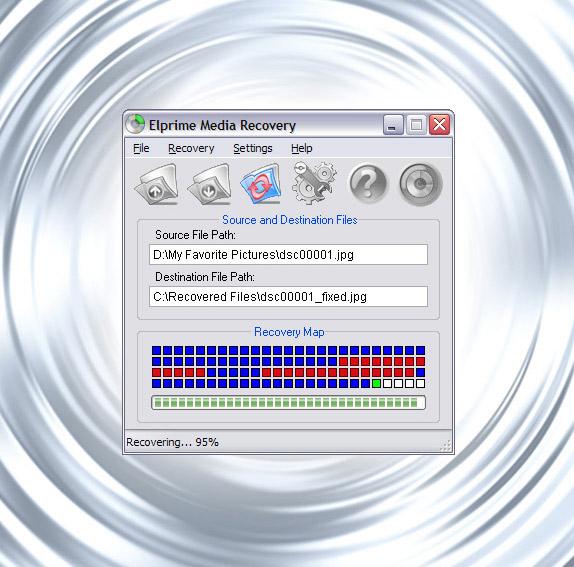 Elprime Media Recovery Screenshot