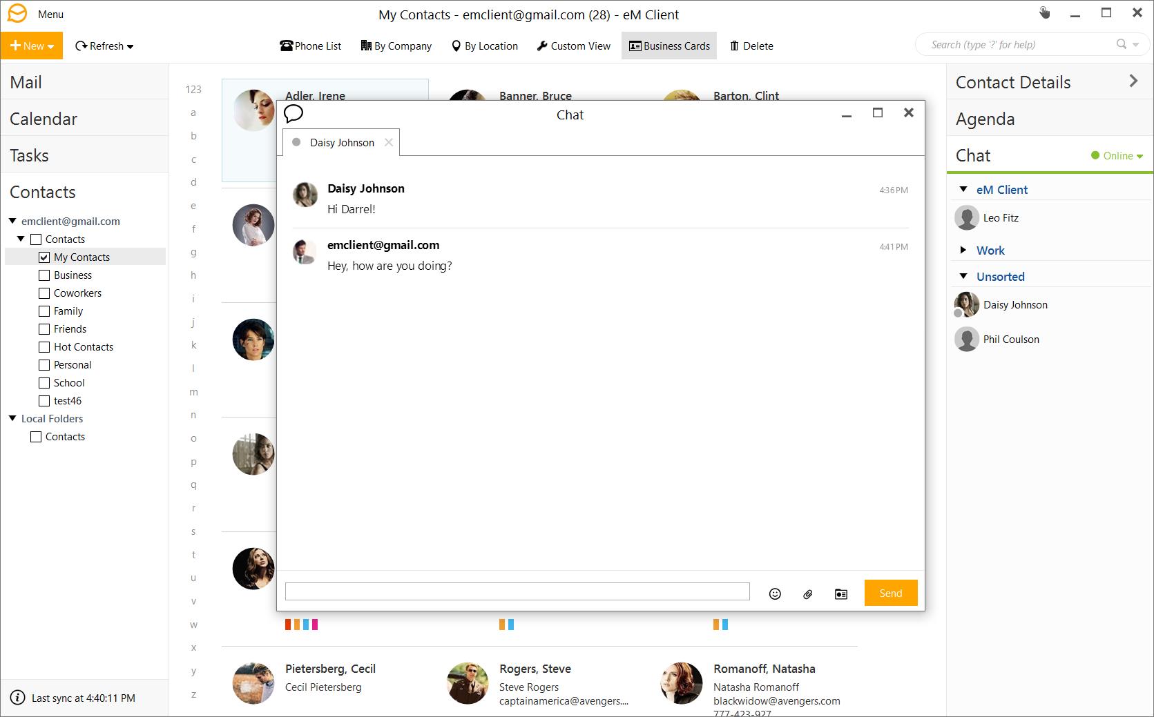 Email Tools Software, eM Client 7 Screenshot