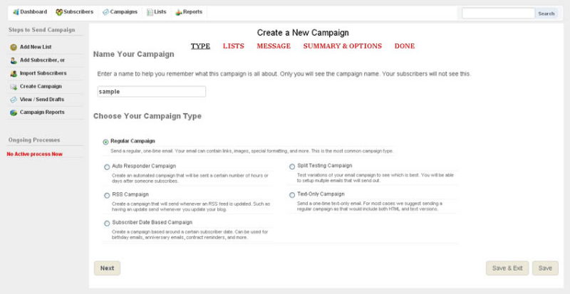 Email Tools Software, Email Marketing Software Screenshot