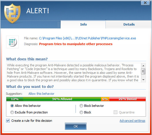 Antivirus Software Screenshot