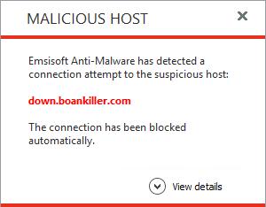 Emsisoft Anti-Malware, Security Software Screenshot