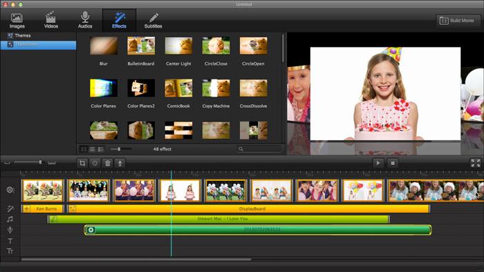 Ephnic Movie Maker, Video Editing Software Screenshot