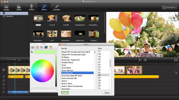 Ephnic Movie Maker, Video Software Screenshot