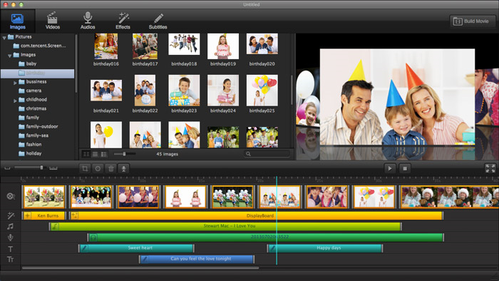 Ephnic Movie Maker Screenshot