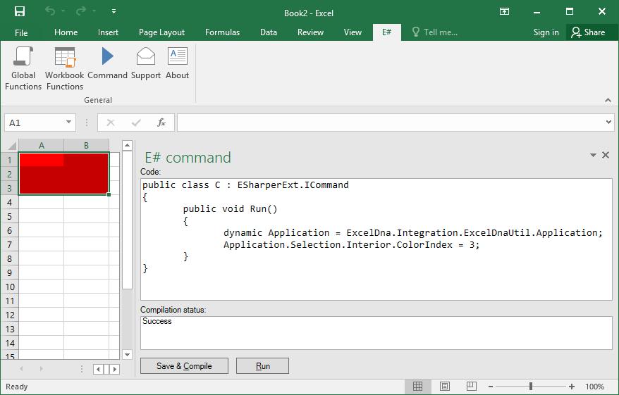 Excel Add-ins Software Screenshot