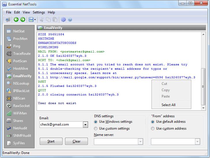 Internet Software, Network Software Screenshot