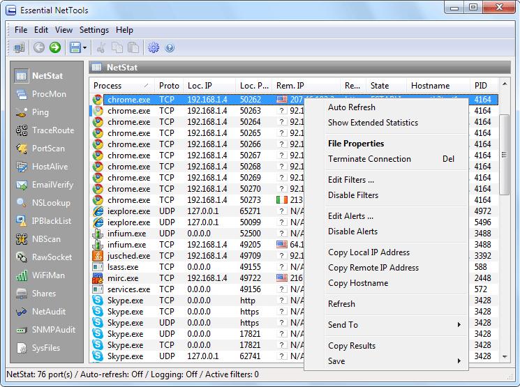 Essential NetTools Screenshot