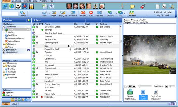 EverDesk Mail Screenshot