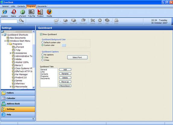 EverDesk Mail, Internet Software Screenshot