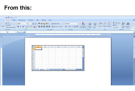 Excel Classic Menu for MS Excel 2007 Screenshot
