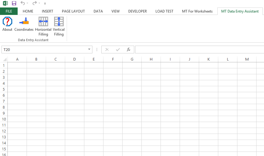 MT Data Entry Assistant Screenshot