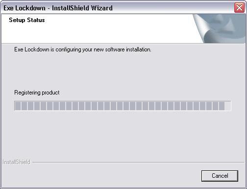Executable Lockdown Screenshot
