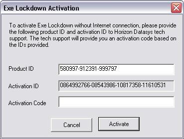 Executable Lockdown Screenshot 9