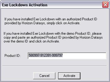 Executable Lockdown Screenshot 8