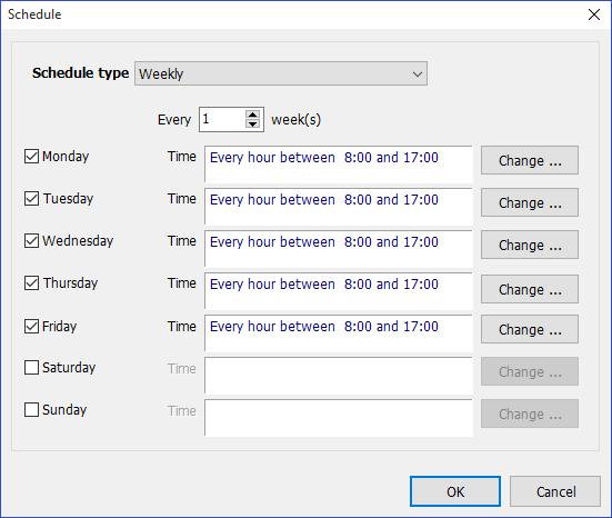 Backup and Restore Software, Exiland Backup Professional Screenshot